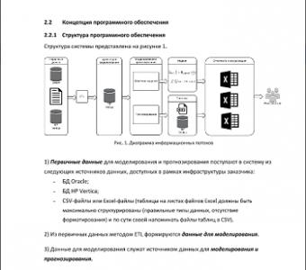Концепция программного обеспечения