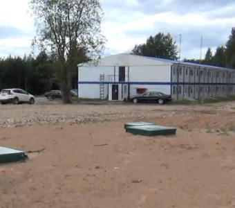 Системы безопасности зданий штаба строительства автодороги М-11, Окуловка