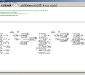 Программирование ОВЕН ПЛК150 для управления ИТП