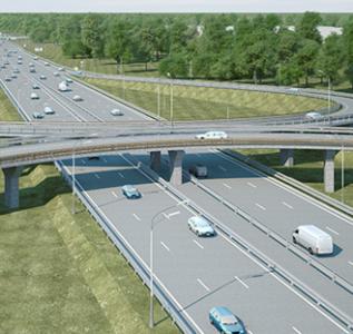 АСУДД автодороги М-7 в районе развязки км 27
