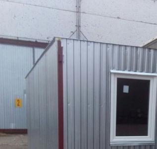 Пожарная сигнализация и система управления эвакуацией склада