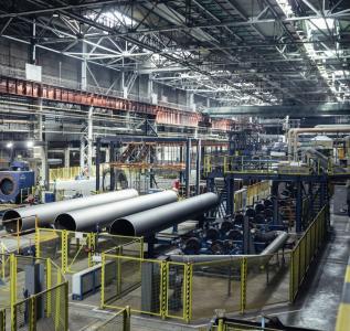 Сети связи цеха металлургического завода