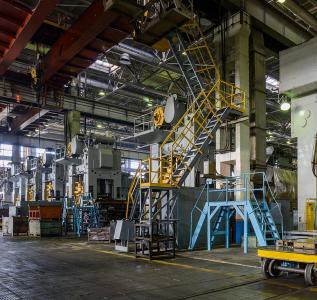 Системы связи и автоматизации инженерных систем завода